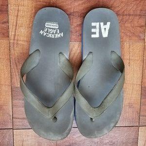American Eagle FlipFlop Sandals Beach Mens 10-11